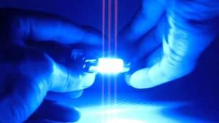 cnjy led navette festoon c3w c5w c10w 6 led 12v 5w sv8 5 mm bleu auto moto plafonnier eclair plaque