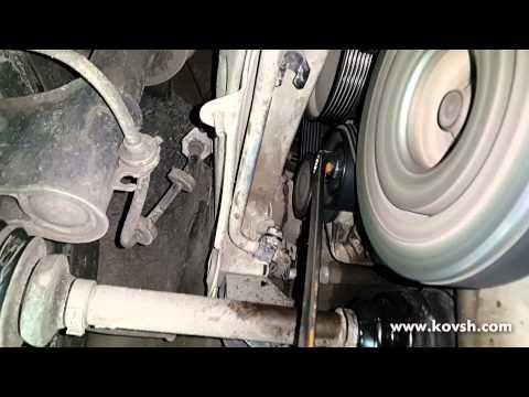 Перекос натяжителя ремня генератора приводит к писку ремня генератора