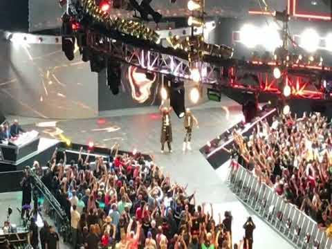 4/9/2018 WWE Raw (New Orleans, LA) - OGBC Luke Gallows & Karl Anderson Entrance