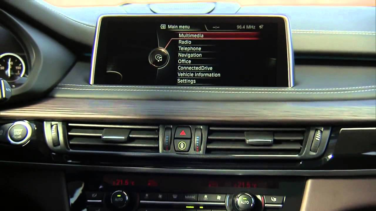 New 2014 bmw x5 interior design official video autocar for Official interior design