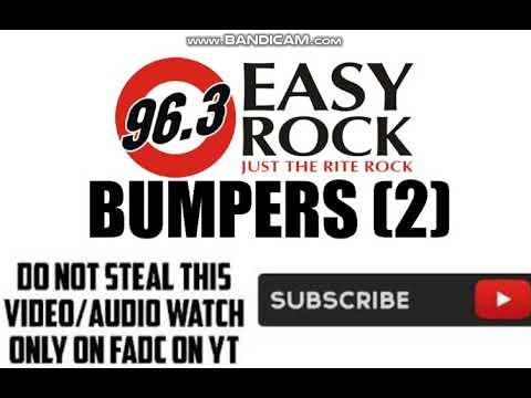 (DWRK-FM) 96.3 EASY ROCK BUMPERS (2)