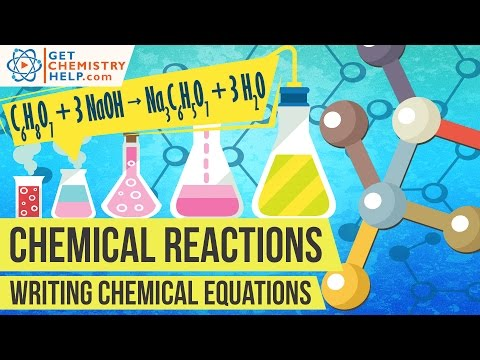 Chemistry Lesson: Writing Chemical Equations