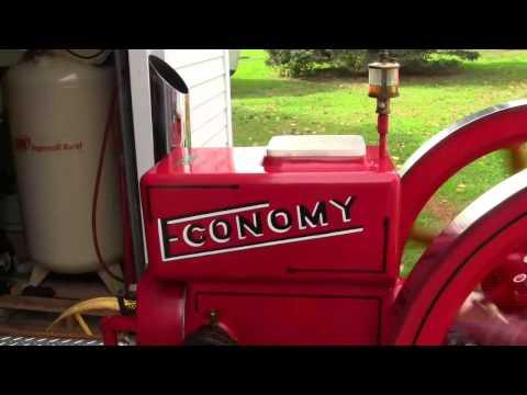Economy 7 HP start up