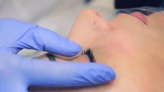 Перманентный макияж глаз / Татуаж век стрелки с растушевкой