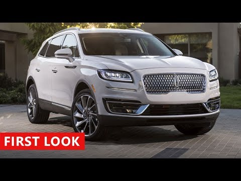 2019 Lincoln Nautilus First Look Luxury Crossover Suv