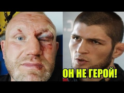 Реакции бойцов на ГРОМКИЙ скандал Харитонова и Яндиева / Осквернили граффити Хабиба Нурмагомедова!