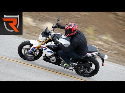 2017 BMW G 310 R Motorcycle First Test Review Video | Riders Domain