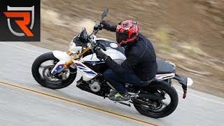 2017 bmw g 310 r first test review video   riders domain