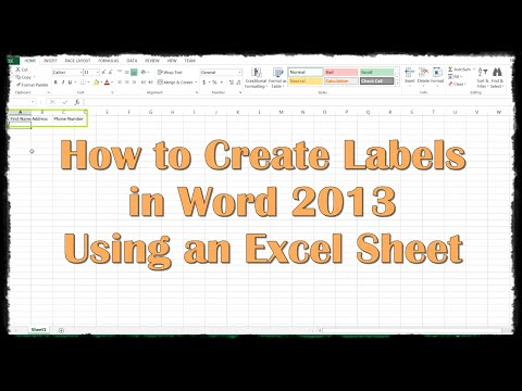 how to create mail merge envelopes in word 2013