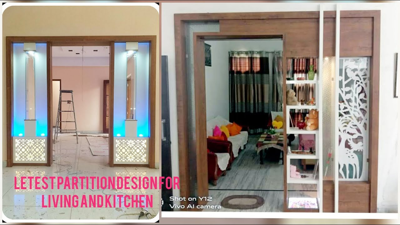 Partition Design Idea S2019 Living Room Dining Room Kitchen Partition Design By Woodworkingidea Youtube