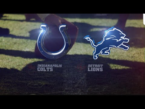 """Detroit Lions vs Colts """"Kenny Golladay """""""
