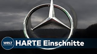 AUTOINDUSTRIE UNTER DRUCK: Daimler plant noch massivere Stellenstreichungen