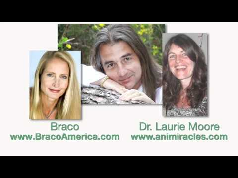 Dr. Laurie Moore with Jane Sibbett on Braco