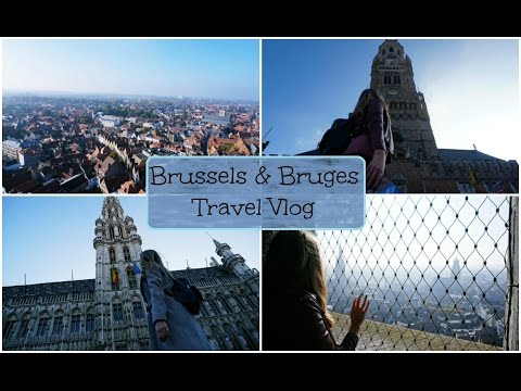 Brussels & Bruges - Travel Vlog | SimplyAshley