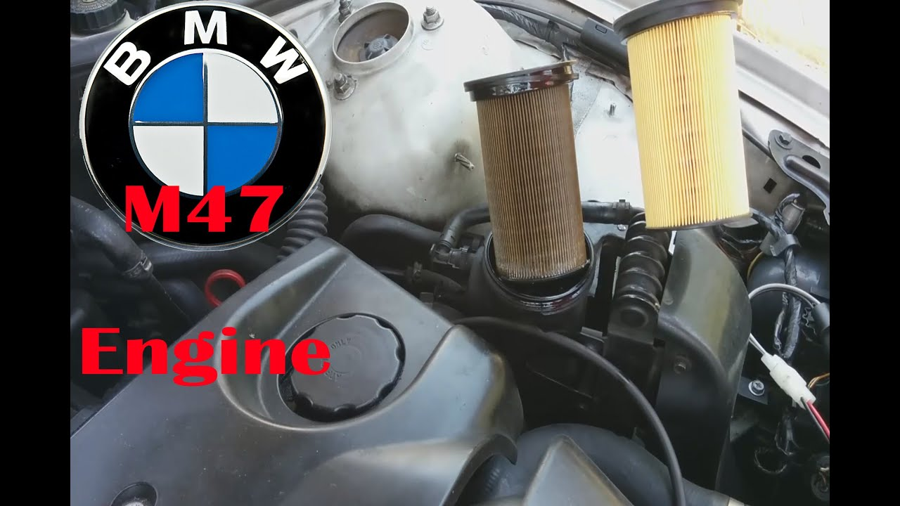 BMW 320d E46 Diesel Filter Replacement (fixed my power loss!)