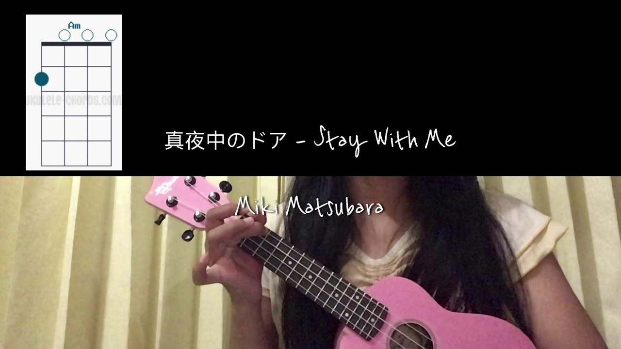 stay with me ukulele tutorial