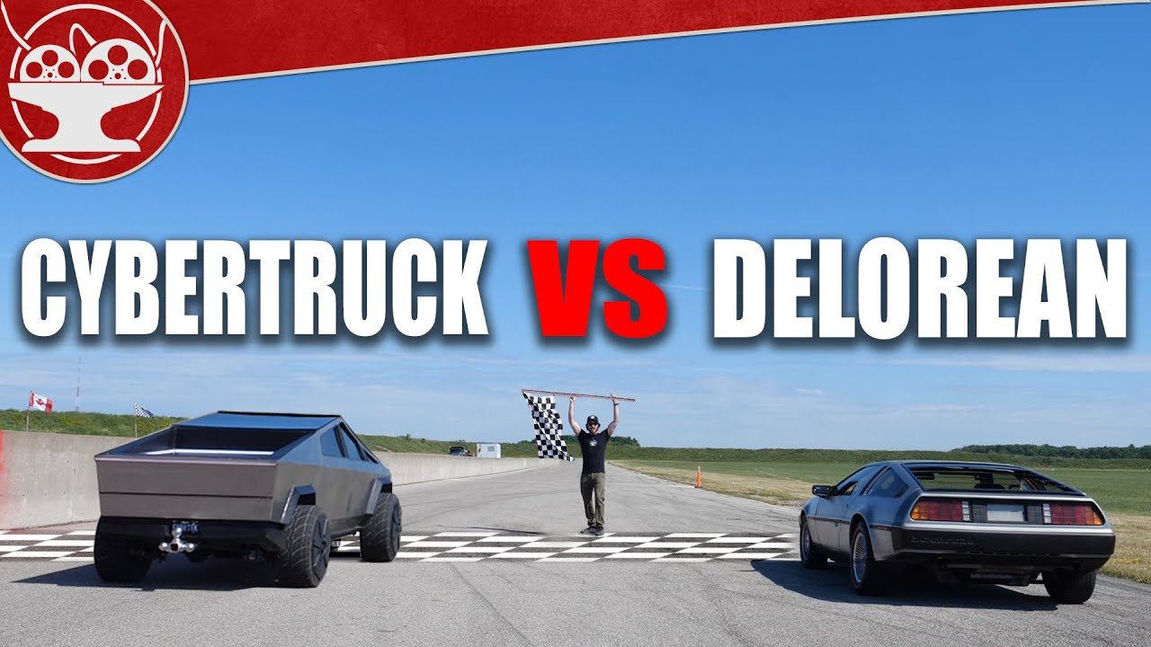 Ford F-150 Lightning and Tesla Cybertruck COMPARED