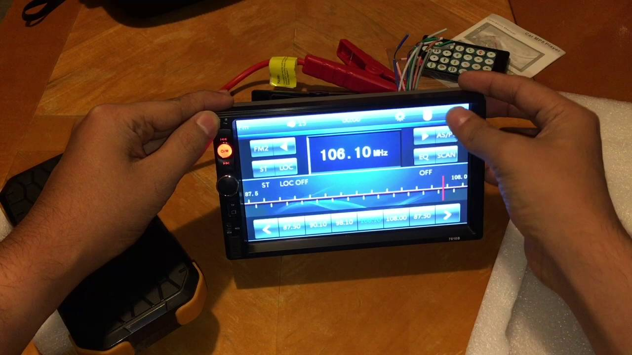 LSLYA 7inch Inexpensive Touch Screen Stereo (7010B Model