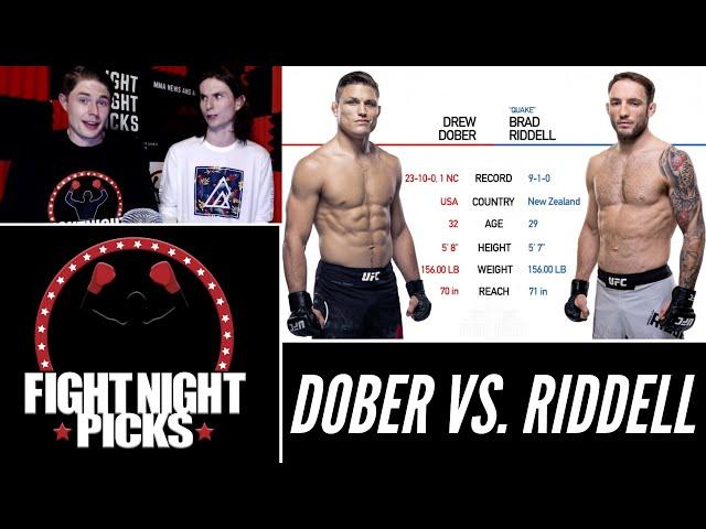 UFC 263: Drew Dober vs. Brad Riddell Prediction