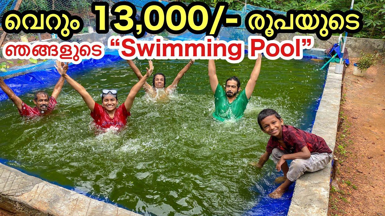 Part- 3 💥ചിലവ് കുറഞ്ഞ ഞങ്ങളുടെ നീന്തൽ കുളം | DIY natural pond making in Malayalam
