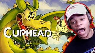 I CAN'T BEAT TΗIS DRAGON!!!! {Cuphead} *Live*
