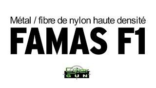 Review #3 : Famas F1 (Nylon fibre) Cybergun (English sub)
