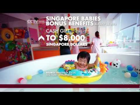 Singapore government offers cash incentives to boost the fertility rate