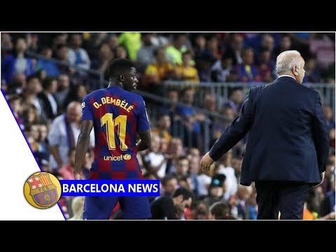 Barcelona to contest Dembele red card- news now