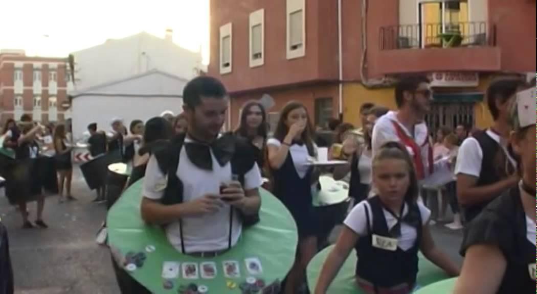 Cabalgata disfraces Sagunto Fiestas 2015