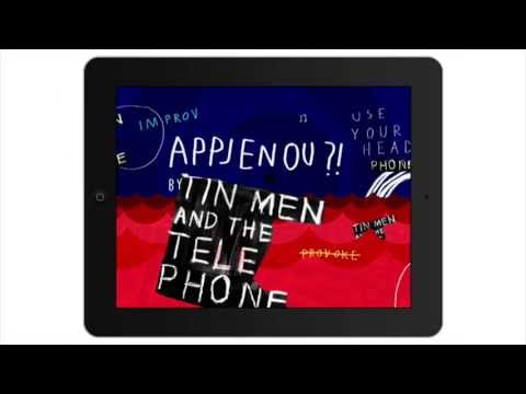 Appjenou?! Interactive Album by Tin Men and the Telephone