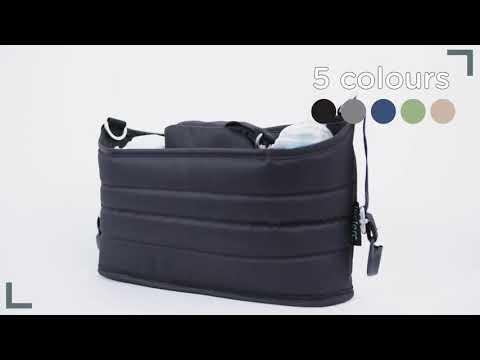 Сумка органайзер для коляски Leclerc Black. Видео №1