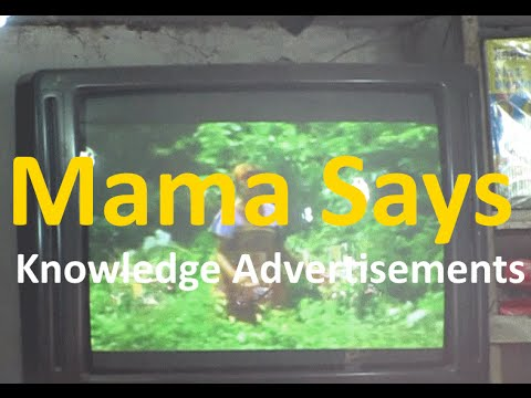 Mama Says TV Screens Attracts African Children