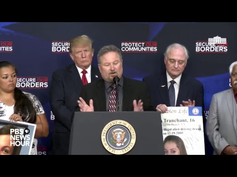 WATCH LIVE: President Trump delivers remarks on immigration with angel families