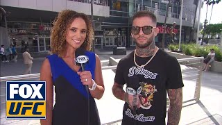 Cody Garbrandt talks with Karyn Bryant on getting his belt back at UFC 227   INTERVIEW   UFC TONIGHT