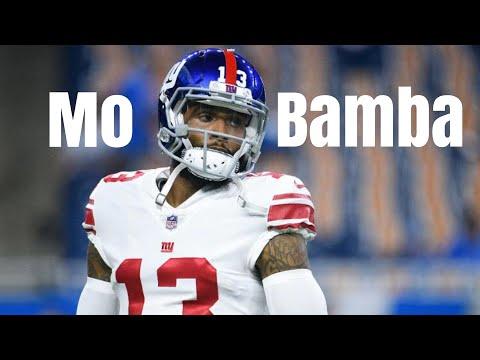 "Odell Beckham Jr. 2019 Giants Highlights ""Mo Bamba"" - Sheck Wes"