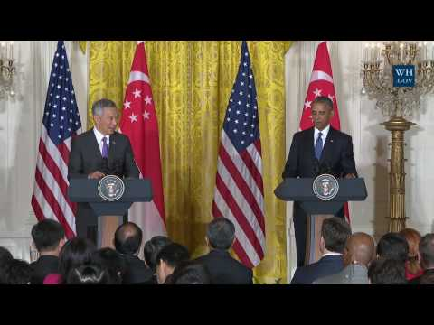 President Obama and Prime Minister Lee Hold a Press Conference