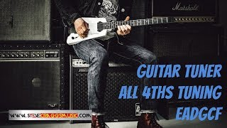 guitar 4ths tuning | guitar tuner
