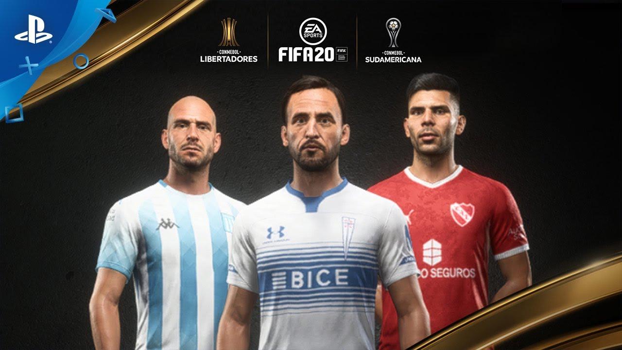 FIFA 20 | CONMEBOL Libertadores Official Gameplay Trailer | PS4