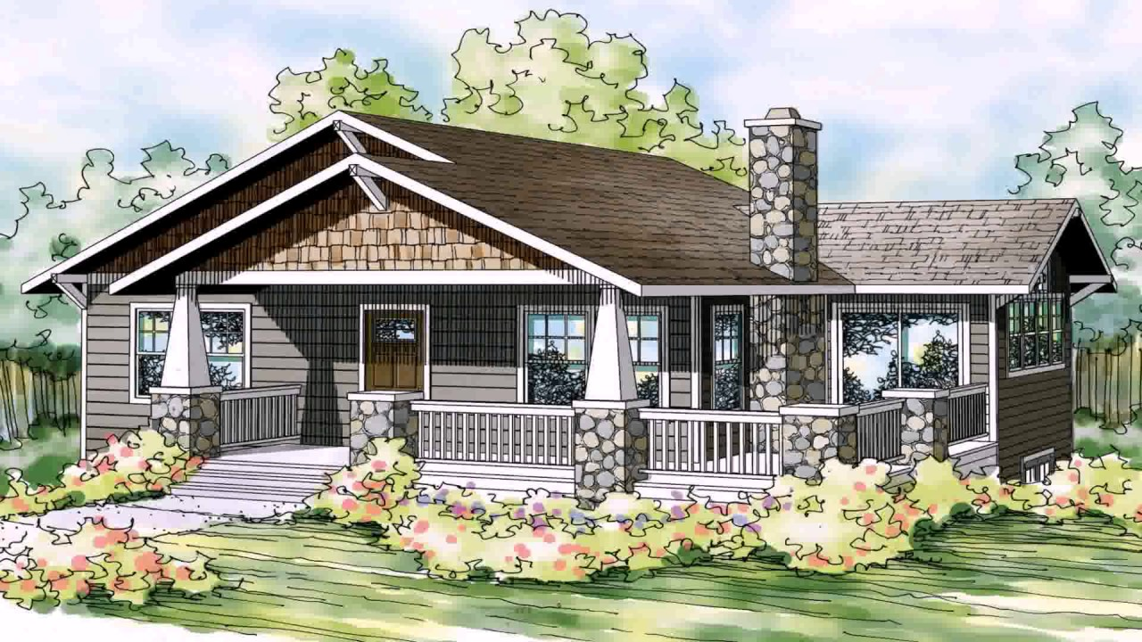 Bungalow Style House Plans Philippines - YouTube