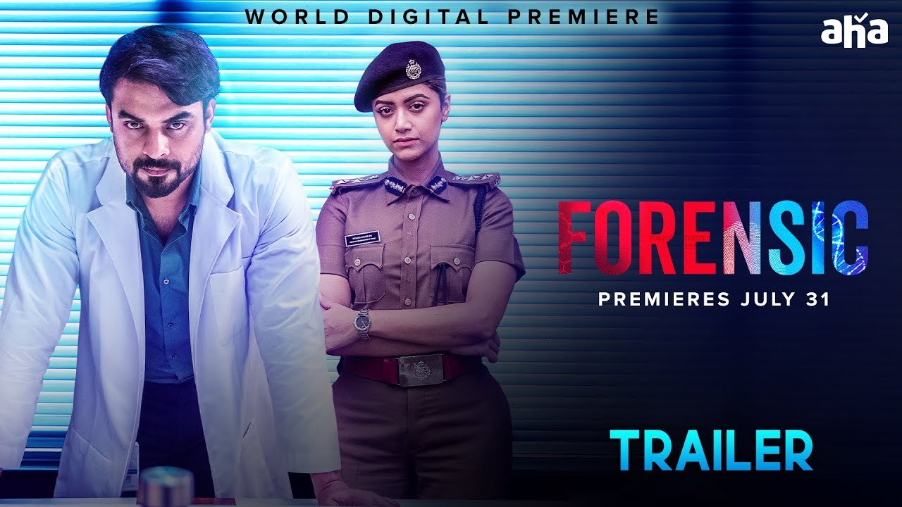 Forensic Telugu Movie Trailer Tovino Thomas Mamta Mohandas World Digital Premiere On Aha Youtube