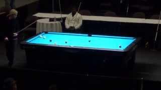 Turning Stone 9-Ball Classic XXIII - Jennifer Barretta Vs. Rob Hart rack 10 RD1