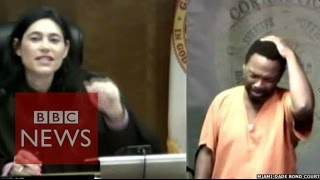 Moment Judge Recognised School Friend In Dock - Bbc News