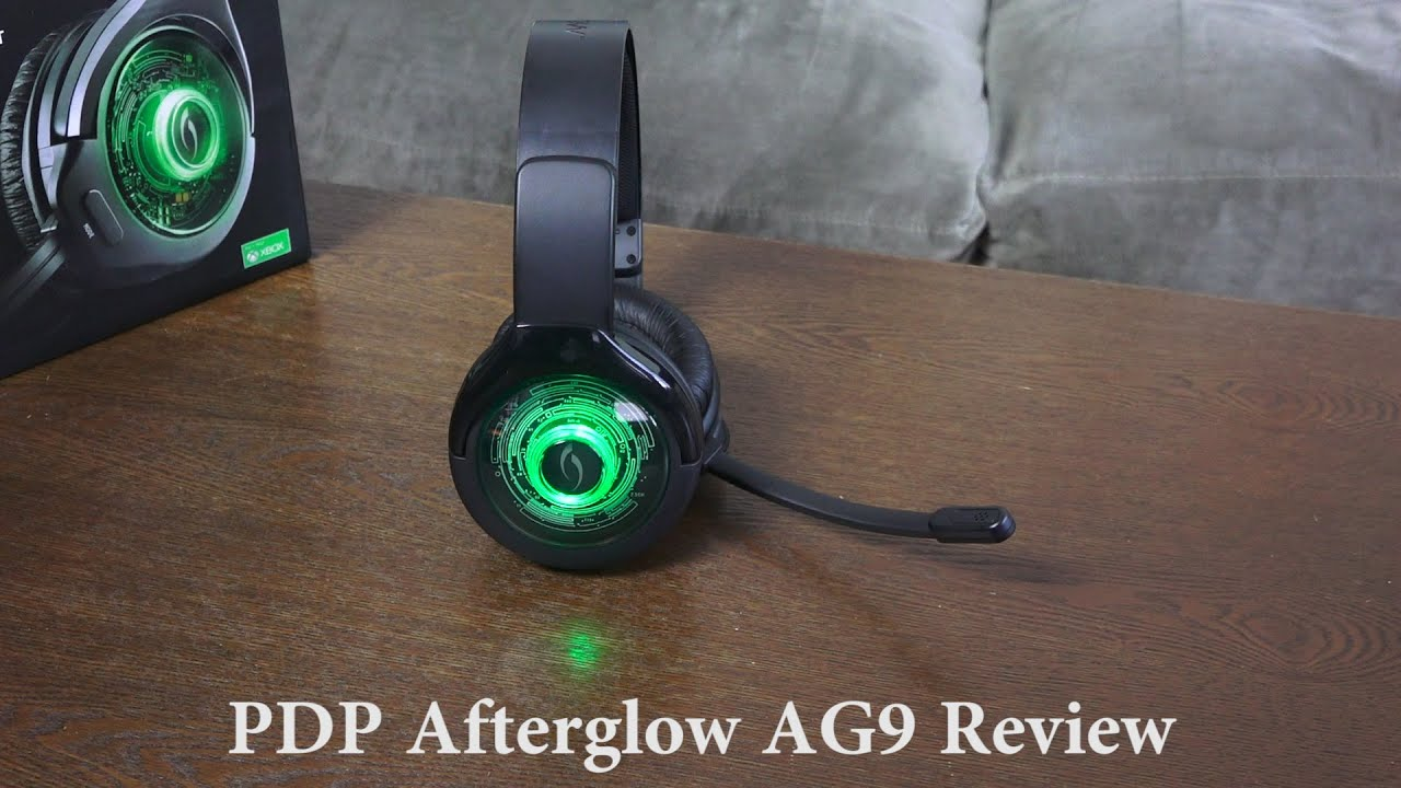 942d9584a1e PDP Afterglow AG9 Xbox One Gaming headset Review - YouTube