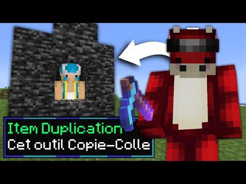 J'ai troll un Noob avec un Item de Duplication sur Minecraft