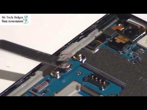 LG Optimus VU - разборка смартфона и обзор запчастей