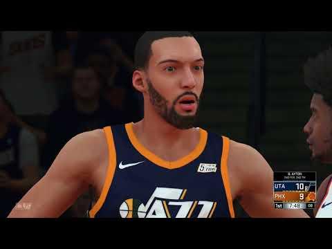 NBA 2K18 Rookie Preview Game Utah Jazz vs Phoenix Suns 2018 Draft Class