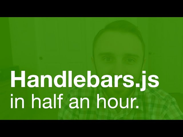 Handlebars.js Tutorial (webpack integration at the end)