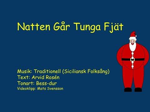 Sankta Lucia (Natten går tunga fjät) - Instrumental i Bess med text