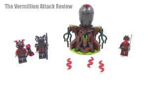 Lego Ninjago The Vermillion Attack Review, 70621 (2017)