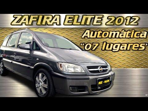 Chevrolet Zafira Elite 2012